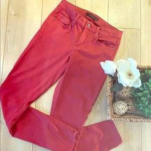 Genetic denim red style stem jeans like new!